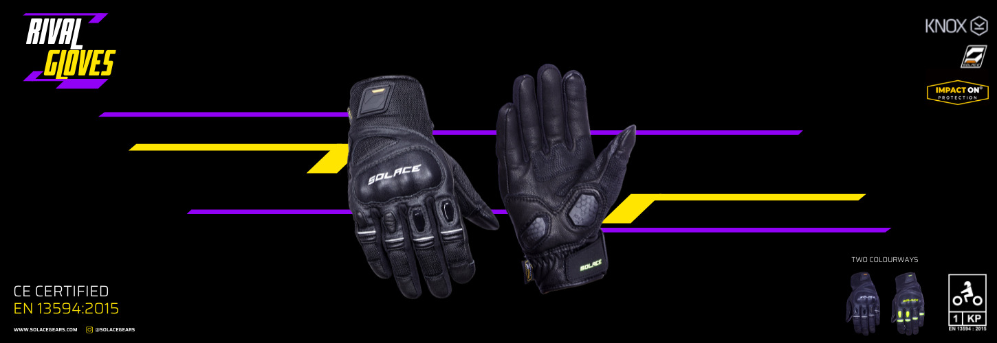 Bikes and riding gears go hand in hand. Riding jacket, riding pants, riding gloves and riding boots, not to forget a good helmet. There are a lot of brands in this realm, say the big boys like Alpinestars, Dainese and countless more.